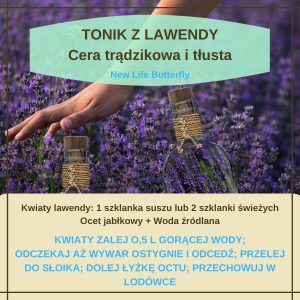 tonik lawendowy
