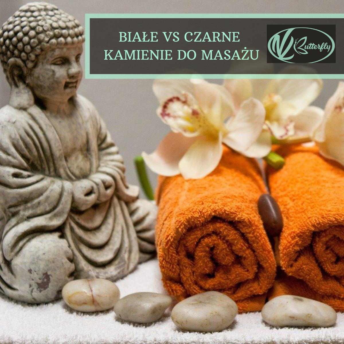 Różnica między białymi a czarnymi kamieniami do masażu